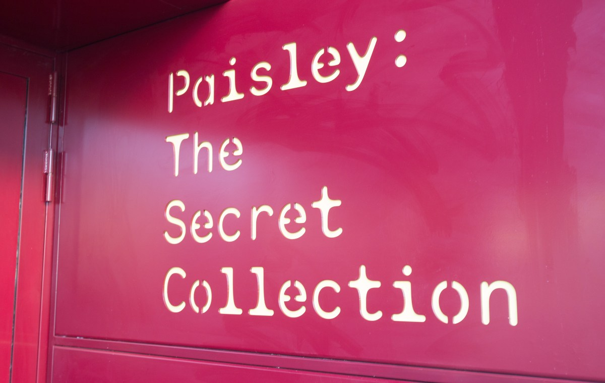 Much more to see in Paisley's Secret Collection